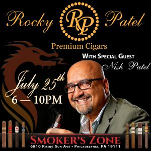 RP Nish Popup Event - Cigar